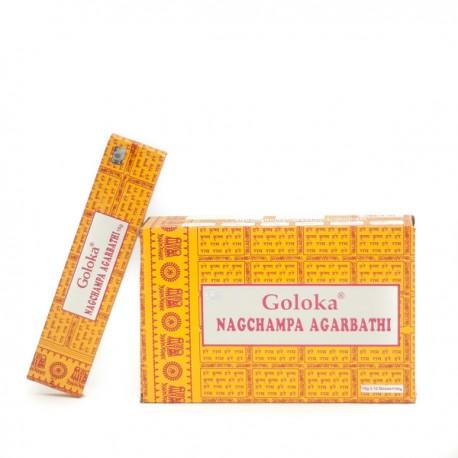 Incienso Goloka Nagchampa Agarbathi
