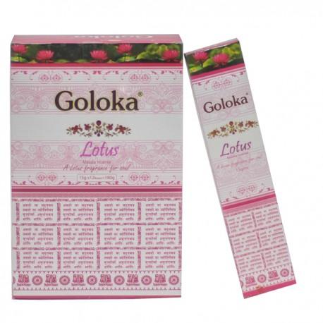 Incienso Lotus Masala Goloka 15 gr