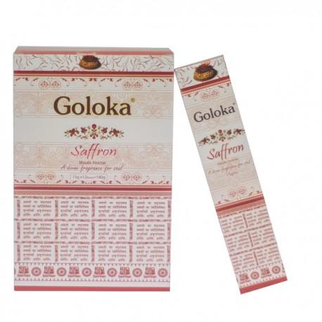 Incienso Saffron Masala Goloka 15 gr