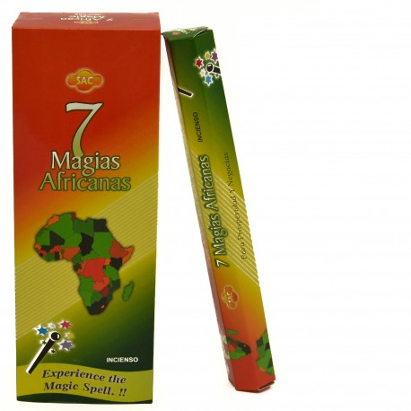 Incienso Siete Magias Africanas Sac
