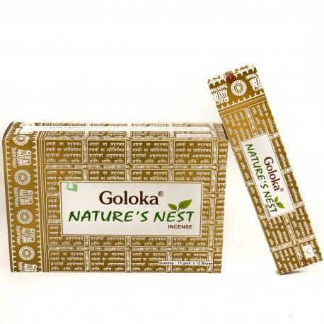 Incienso Goloka Nature Nest 15 gr