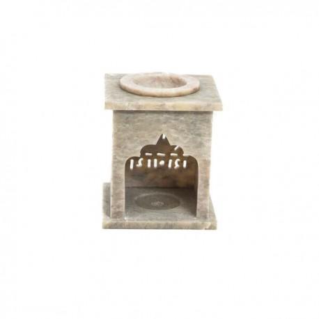 Quemador Aceite Esencial en Piedra de Jabón Mod.11