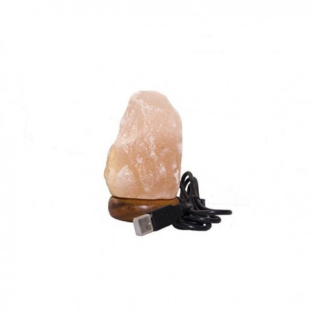 Lampara de Sal del Himalaya usb 0.5 Kg