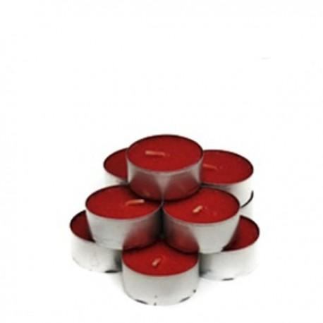 Pack 10 tealights aroma Frutas del Bosque 5 Horas