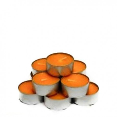 Pack 10 tealights aroma Melocoton 5 Horas