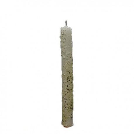 Vela Artesanal de Sal, Ruda y Laurel 2 x 20 cm