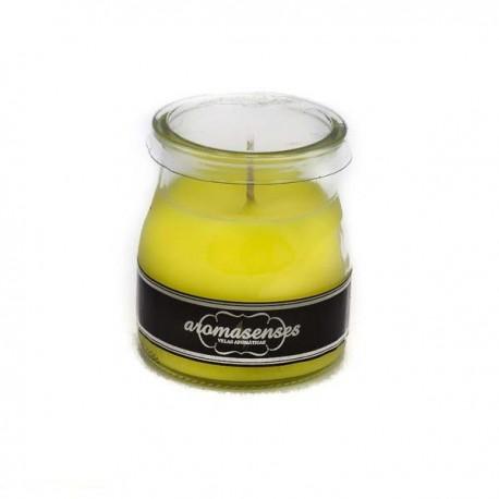 Vela vaso yogur perfumado Citronela
