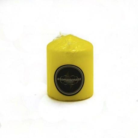 Vela Taco Antitabaco Amarilla 7 x 5.7