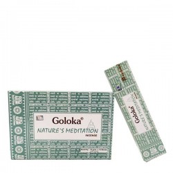 Incienso Goloka Nature´s Meditation 15 grs- caja de 12 unds.