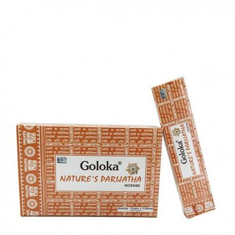 Incienso Goloka Nature´s Parijatha 15 grs- caja de 12 unds.