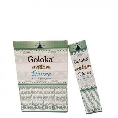 Incienso Divine Masala Goloka 15 grs- caja de 12 unds