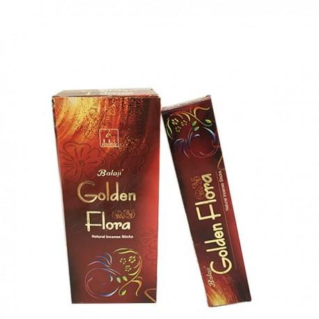 Incienso Golden Flora Balaji 15 grs