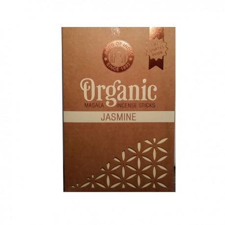 INCIENSO ORGANICO JAZMIN 12 paquetes de 15 gramos