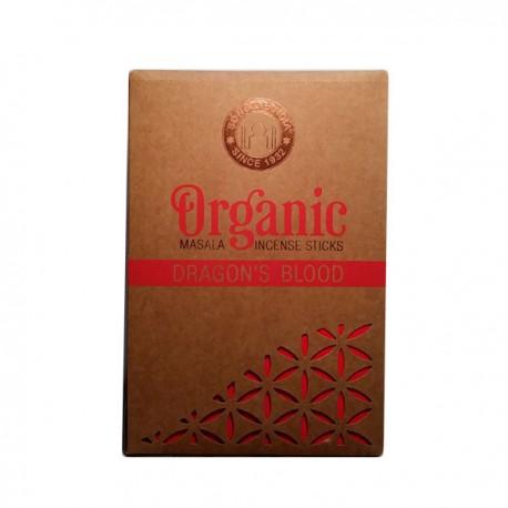 INCIENSO ORGANICO SANGRE DE DRAGON 12 paquetes de 15 gramos