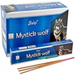 Incienso Mystick Wolf Balaji 15 grs