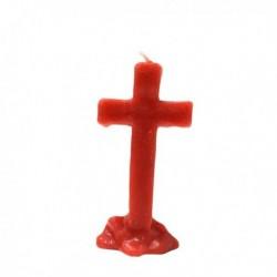 Vela cruz roja