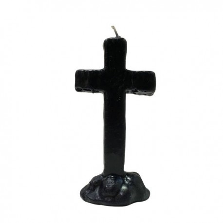 Vela cruz negra