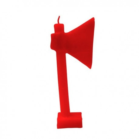 Vela Hacha roja