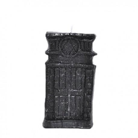 Vela negra con forma puerta abre caminos