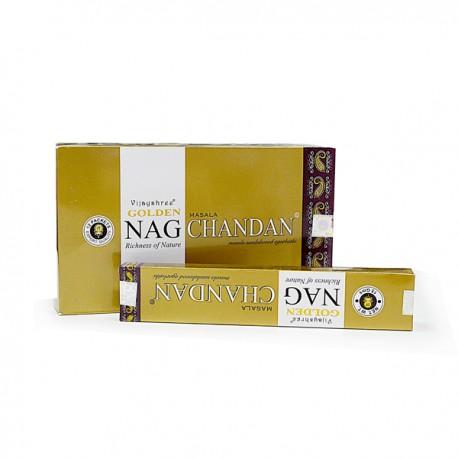 Incienso Golden Nag Chandan 15 grs