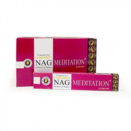 Incienso Golden Nag Meditación 15 grs