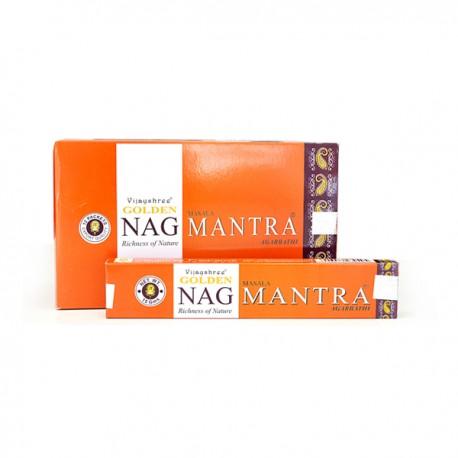 Incienso Golden Nag Mantra 15 grs