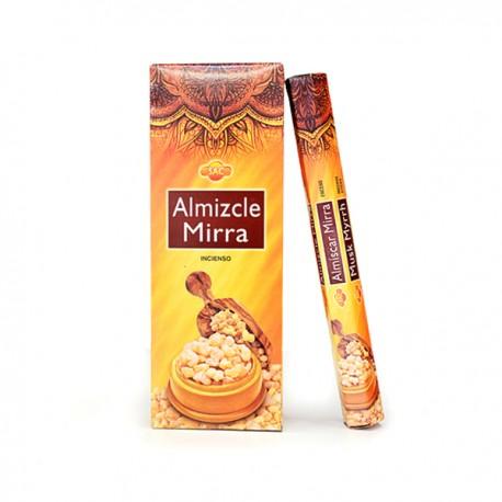 Incienso Almizcle- Mirra Sac - Pack 6 unidades