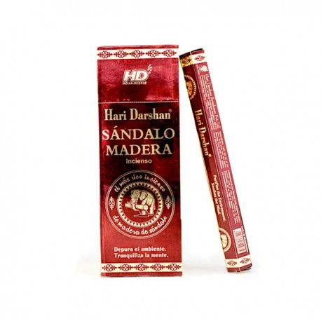 Incienso Sándalo - Madera (Sandal wood) HD - pack 6 unidades