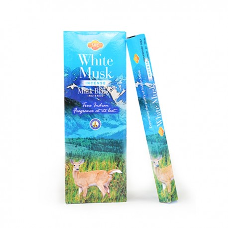 Incienso White Musk Sac - Pack 6 unidades