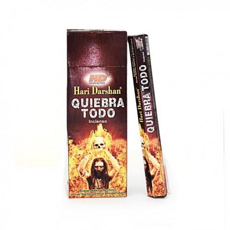 Incienso Quiebra Todo Hari Darshan - Pack 6 unds
