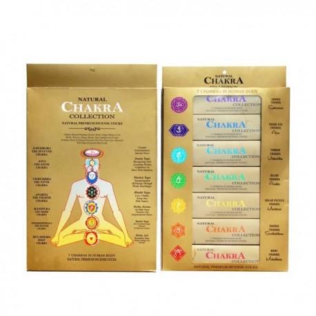 Incienso Natural Premium Malasa 7 Chakras