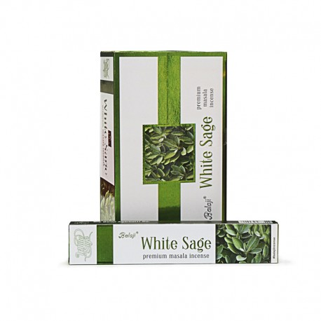 Incienso White Sage (Salvia Blanca) Balaji 15 grs